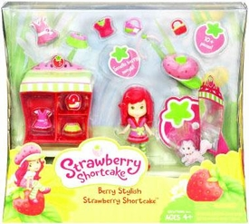 Strawberry Shortcake Hasbro Themed Playset Berry Stylish Strawberry Shortcake