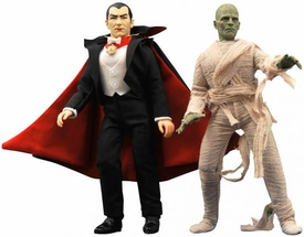 Universal Monsters Retro Series 2 Set of Both Cloth Figures [Dracula & The Mummy]