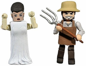 Universal Monsters Minimates Series 2 Exclusive The Bride of Frankenstein & Villager