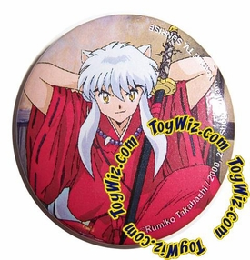 Inuyasha Accessories Official Button Inuyasha #1