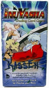 InuYasha Trading Card Game Kassen Booster BOX [12 Packs]