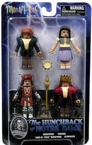 Universal Monsters Minimates 4-Pack Hunchback of Notre Dame