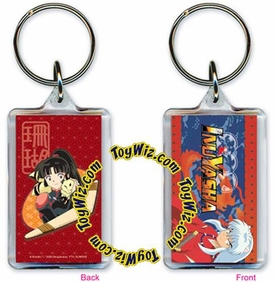 Inuyasha Accessories Official Keychain Lucite Sango & Kilala