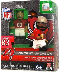 OYO Football NFL Building Brick Minifigure Vincent Jackson  [Tampa Bay Buccaneers]