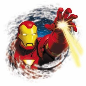 Iron Man Sticker Invincible Hand
