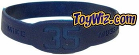 Official MLB Major League Baseball NY Yankees Player Rubber Bracelet #35 Mike Mussina