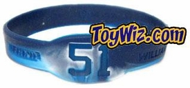 Official MLB Major League Baseball NY Yankees Player Rubber Bracelet #51 Bernie Williams