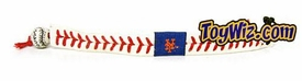 Official MLB Major League Baseball New York Mets Game Wear Bracelet