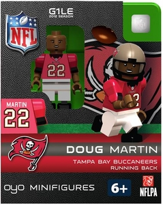 OYO Football NFL Building Brick Minifigure Doug Martin [Tampa Bay Buccaneers]