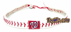 Official MLB Major League Baseball Washington Nationals Game Wear Necklace