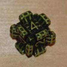 IronDie Single Die Common #38 Green Fortress