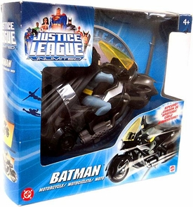 Justice League Unlimited Action Figure Motorcycle Mission Vision Batman