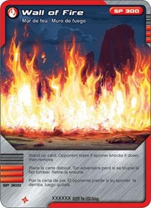 LEGO Ninjago Single Card 24/81 Wall of Fire