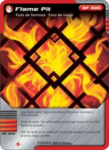 LEGO Ninjago Single Card 23/81 Flame Pit