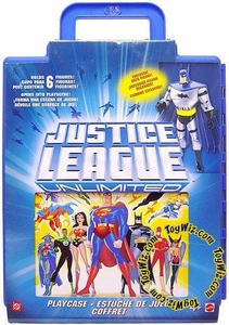 Justice League Unlimited Action Figure Playcase with Batman Figure BLOWOUT SALE!