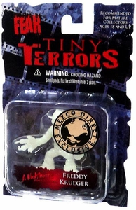 Cinema of Fear Tiny Terrors Series 1 Glow-in-the-Dark Mini Figure Freddy Krueger