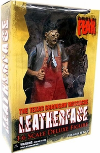 Mezco Toyz Cinema of Fear Texas Chainsaw Massacre 12 Inch Action Figure Leatherface
