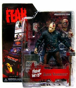 Mezco Toyz Cinema of Fear Series 1 Action Figure Jason [Friday The 13th Part 4: The Final Chapter]