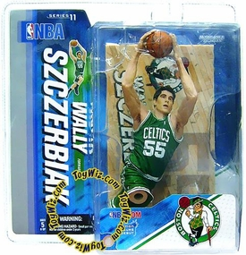 McFarlane Toys NBA Sports Picks Series 11 Action Figure Wally Szczerbiak (Boston Celtics) Green Jersey