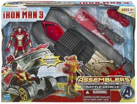 Iron Man 3 Assemblers Interchangeable Armor System Battle Vehicle
