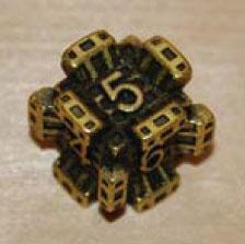 IronDie Single Die Common #83 Yellow Fortress