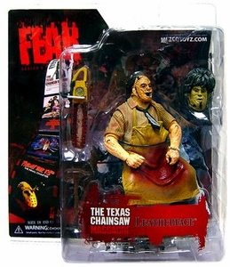 Mezco Toyz Cinema of Fear Series 1 Action Figure Leatherface [Texas Chainsaw Massacre 2]