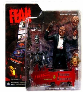 Mezco Toyz Cinema of Fear Series 1 Action Figure Freddy [Nightmare On Elm Street 3: Dream Warriors]