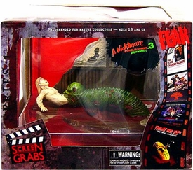 Mezco Toyz Cinema of Fear Screen Grabs Series 1 Diorama A Nightmare On Elm Street 3: Dream Warriors