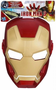 Iron Man 3 Arc FX Glow In The Dark Mask Iron Man Scuffed Mask!