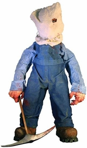 Mezco Toyz Cinema of Fear Series 2 Deluxe Plush Figure Jason [Friday the 13th Part 2]