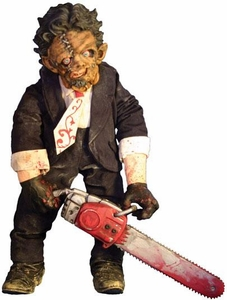Mezco Toyz Cinema of Fear Series 2 Deluxe Plush Figure Leatherface [Texas Chainsaw Massacre 2]