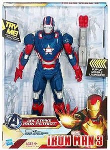 Iron Man 3 Arc Strike Series 1 Action Figure Power Charged Iron Patriot