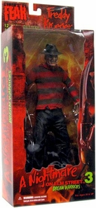Mezco Toyz Cinema of Fear 12 Inch Deluxe Rotocast Action Figure Freddy Krueger