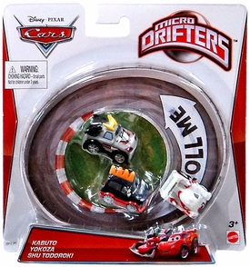 Disney / Pixar CARS Movie Micro Drifters 3-Pack Kabuto, Yokoza & Shu Todoroki