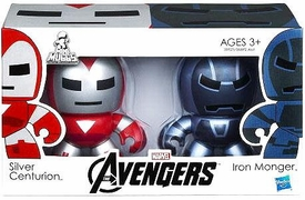 Marvel Avengers Movie Mini Mighty Muggs 2-Pack Silver Centurion & Iron Monger