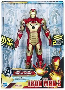 Iron Man 3 Arc Strike Series 1 Action Figure Power Charged Iron Man