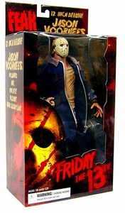 Mezco Toyz Cinema of Fear 12 Inch Deluxe Figure Jason Voorhees [2009 Remake Version]