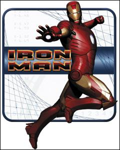 Iron Man Sticker Pose