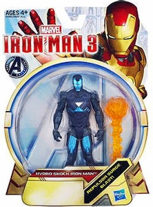 Iron Man 3 series 1 Action Figure Hydro Shock Iron Man