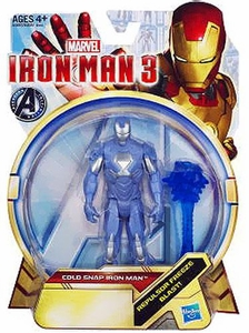 Iron Man 3 series 1 Action Figure Cold Snap Iron Man