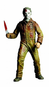 Mezco Toyz Cinema of Fear 7 Inch Action Figure Michael Myers [Rob Zombie's Halloween 2 Version]