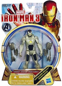 Iron Man 3 Series 1 Action Figure Ghost Armor Iron Man