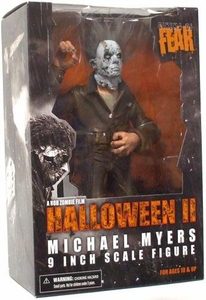 Mezco Toyz Cinema of Fear 9 Inch Stylized Roto Action Figure Michael Myers [Rob Zombie's Halloween 2 Version]