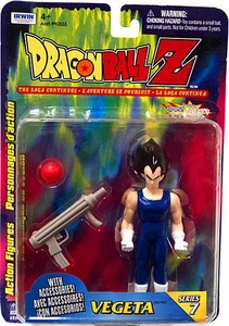 Dragonball Z Irwin Series 7 Action Figure Vegeta