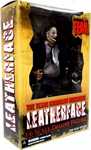 Mezco Toyz Cinema of Fear Exclusive Texas Chainsaw Massacre 12 Inch Action Figure Leatherface [Suit Variant]