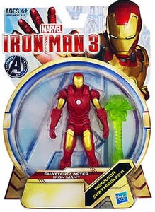 Iron Man 3 series 1 Action Figure Shatterblaster Iron Man