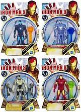 Iron Man 3 Series 1 Set of 4 Action Figures [Hydro Shock, Cold Snap, Ghost Armor & Shatterblaster]