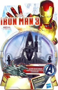Iron Man 3 Motororized Battle Chargers Stealth Jet to War Machine