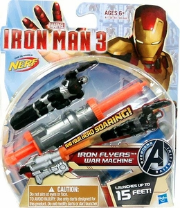 Iron Man 3 Iron Flyers  War Machine & Dart