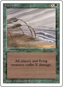 Magic the Gathering Revised Edition Single Card Uncommon Hurricane